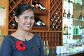 Free Bartender Smiling Royalty Free Stock Photo - 4873305