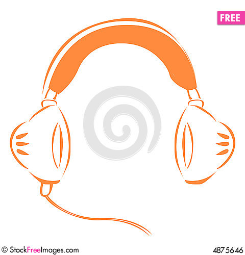 Free Head Set Royalty Free Stock Image - 4875646