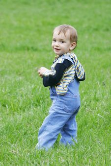 Free Cute Baby Boy Stock Photography - 4870422