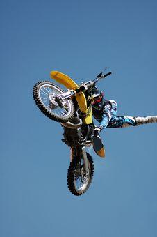 Free Stunt Biker. Stock Photos - 4870463