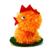 Small Chicken Figure Stock Photos