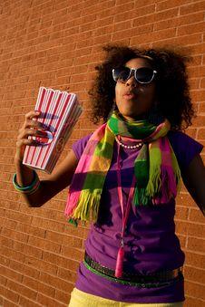 Free Cool Girl Stock Photo - 4871220