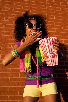 Free Cool Girl Stock Image - 4871471