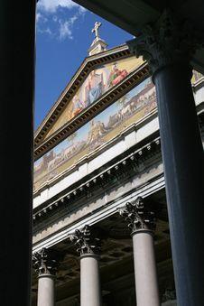 St. Pauls Basilica Stock Image