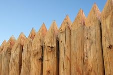 Free Wooden Paling Royalty Free Stock Images - 4873129