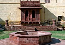 India; Jaisalmer; Indian Palace Stock Photos