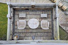The Deck Below Stock Image