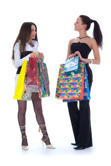 Free Business Lady Shopping Stock Photography - 4873692