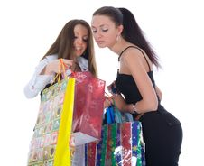 Free Business Lady Shopping Royalty Free Stock Photos - 4873708