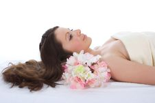 Free Attractive Woman Getting Spa Treatment Stock Photography - 4873752