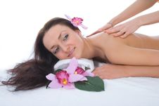 Free Attractive Woman Getting Spa Treatment Stock Images - 4873754