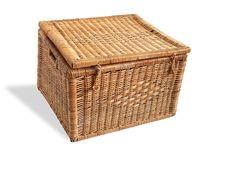 Free Nice Wicker Basket Stock Photo - 4873910