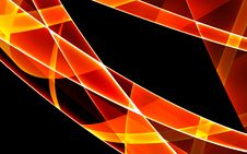 Free Background With Orange Lines Stock Photos - 4874273