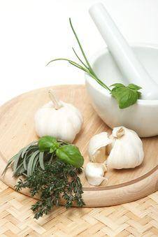 Free Garlic Royalty Free Stock Photography - 4874717