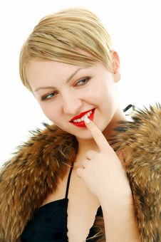 Free Beauty Woman Portrait Royalty Free Stock Photography - 4874867