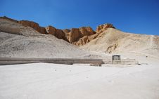 Valley Of The Kings Stock Image