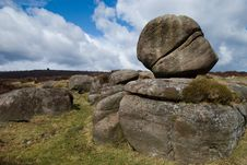Free Burbage Grit Face Royalty Free Stock Images - 4875429