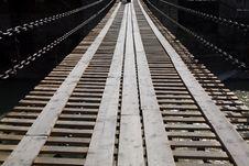 Free Suspended Bridge Stock Image - 4876011