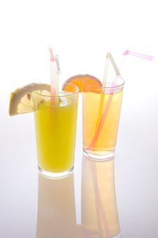 Fruit Juice Stock Image