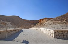 Valley Of The Kings Royalty Free Stock Image