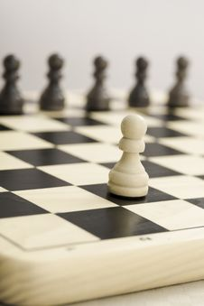 Free Chess Board Soldier Stock Photos - 4876573