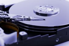 Free Opened Hard Drive Royalty Free Stock Photo - 4876735