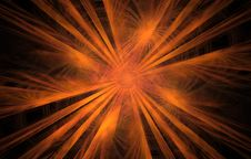Free Abstract Fractal Sun Royalty Free Stock Photos - 4876808