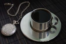 Free Watch And Coffee Stock Photos - 4876833