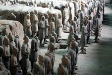Free Terra Cotta Warriors Royalty Free Stock Photo - 4876855