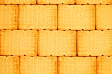 Free A Wall From Biscuits Royalty Free Stock Photos - 4876928