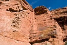 Free Sandstone Cliffs Royalty Free Stock Images - 4877079