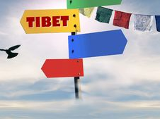 Free Tibet Series Royalty Free Stock Image - 4877276