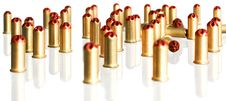 Free Bullets Royalty Free Stock Image - 4877426