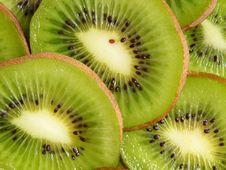 Free Kiwi Slices Background Royalty Free Stock Photo - 4877545