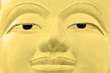 Free Buddha Face, Sukhothai, Thailand. Stock Photos - 4878093