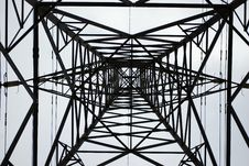 Free Inside View Of A Pylon Royalty Free Stock Images - 4878219