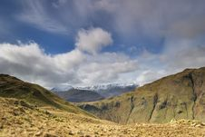 Free Helvellyn Range From Beda Fell Stock Images - 4878414
