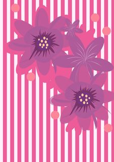 Free Flower Background Royalty Free Stock Photo - 4878615