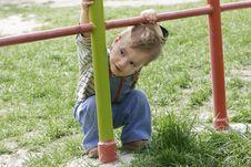Free Cute Baby Boy Portrait Stock Photography - 4879222