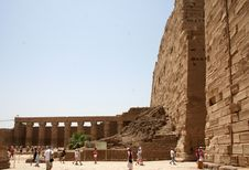 Free Luxor Ruins , Egypt. Royalty Free Stock Image - 4879286