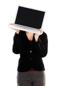 Free Laptop Head Stock Photo - 4879360