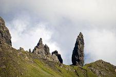 Free Old Man Of Storr Stock Image - 4879461