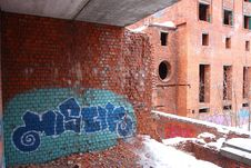 Free Graffiti Urban Building Royalty Free Stock Photos - 4879498