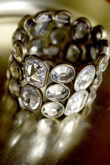 Free Diamond Bangle Stock Images - 4879794
