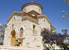 Free Christian Chapel, Cyprus Royalty Free Stock Images - 4879929