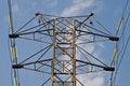 Free Power Transmission Pole Stock Photo - 4880050