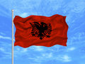 Free Albania Flag 1 Stock Photography - 4886312