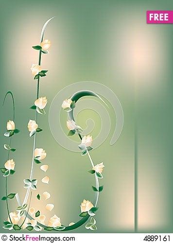 Free Peach Roses Stock Image - 4889161