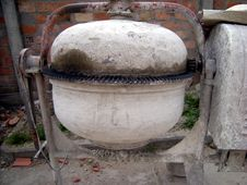 Free Old Concrete Mixer Stock Images - 4880034