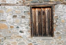 Free Old Wooden Church Door Stock Photography - 4880132